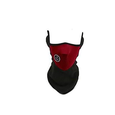 haze wg máscaras protetoras máscaras equitação vento e máscara de pó (5 embalados, vendidos vermelho)