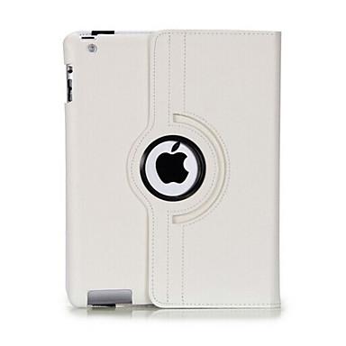 tartós flip-nyitva pu bőr teljes test esetében a 360 fokban elforgatható állvány iPad 2/3/4