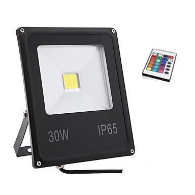 1pc 30W LED Flutlichter Wasserfest Dekorativ RGB 85-265V
