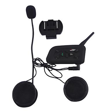 Vnetphone V6 1Pcs 1200 Meter Motorradhelm bluetooth Interfon Telefon automatisch zu beantworten, hören frei zu Musik und reden
