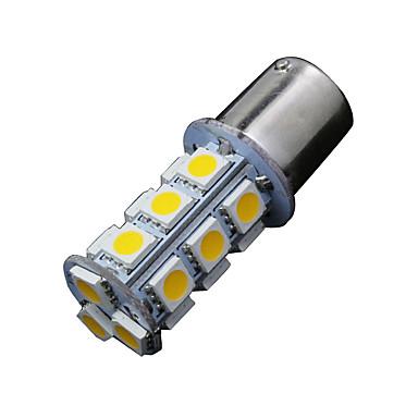 2 x lämmin valkoinen 1156 BA15s 18-SMD 5050 vilkku varmuuskopio kääntää led-lamput