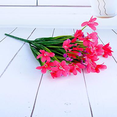 Künstliche Blumen 1pcs Ast Moderner Stil Orchideen Tisch-Blumen