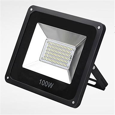 100w 6000K IP66 johti SMD erittäin ohut vesitiivis puutarha tulva valo johti spotlighting (220v)