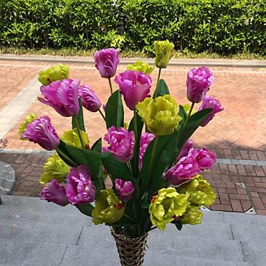 1 1 Branch Polyester / Plastikk Others Gulvblomst Kunstige blomster 39.76Inch/101cm