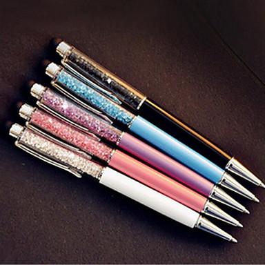 Kugelschreiber Stift Kugelschreiber Stift, Edelstahl Kunststoff Schwarz Tintenfarben For Schulzubehör Bürobedarf Packung