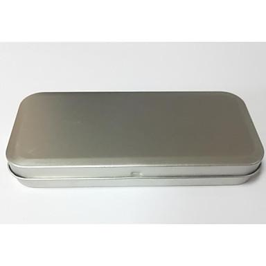 cor prata embalagem material metal&transporte estanha a um pacote de três