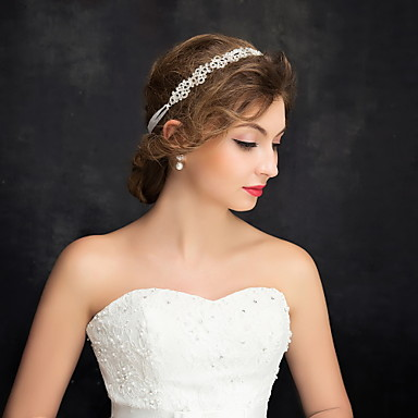 imitatie parel strass legering hoofdbanden hoofddeksel elegante stijl