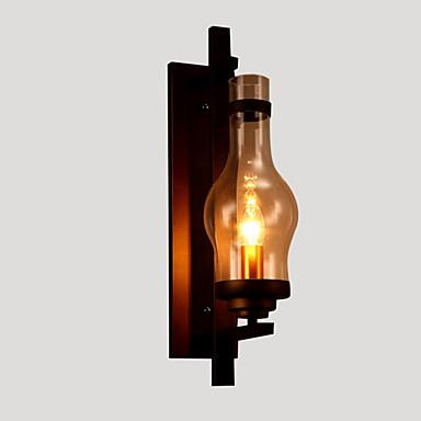 Traditionel / Klassisk Vegglamper Metall Vegglampe 110-120V / 220-240V MAX 60W