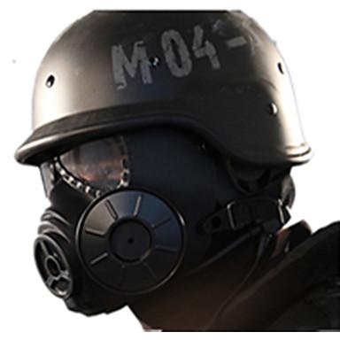 sort farve, andet tilbehør materiale beskyttelse cs udendørs spil maske