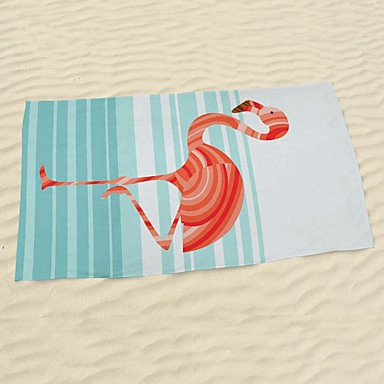 Strandhåndklæde,Reaktivt Print Høj kvalitet 100% Mikro Fiber Håndklæde