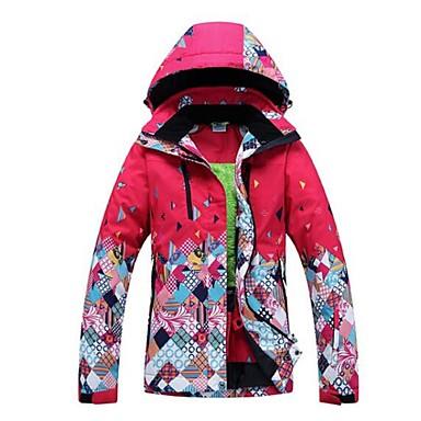 GQY® Ski-jack Dames Skiën Wintersporten Houd Warm Winddicht Draagbaar Polyester Winterjack