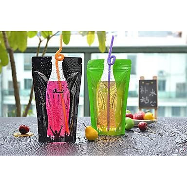 saco de embalagens de bebidas atualizar 12 * 20cm 350ml moda vedação de espessura