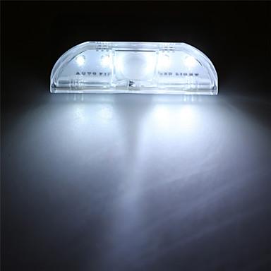 1 stk LED Night Light Batteri Sensor Genopladelig <5V
