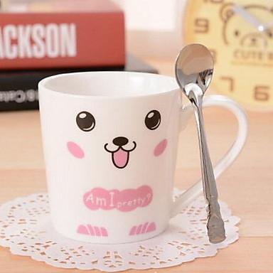 keramisk kop sæt par mælk kaffekop