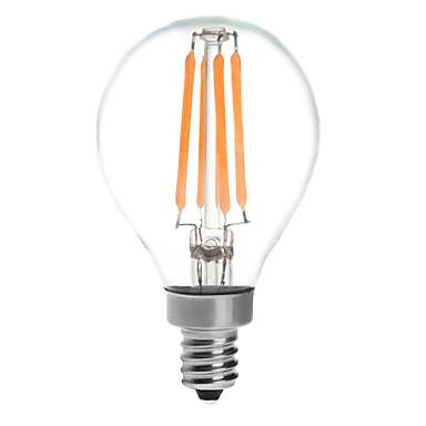KWB 380 lm E14 LED Kugelbirnen G45 4 Leds COB Wasserfest Warmes Weiß Wechselstrom 220-240V
