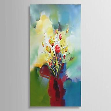 Hånd-malede Abstrakt / Landskab / Still Life / Blomstret/Botanisk Oliemalerier,Parfumeret / Europæisk Stil / Moderne / Klassisk Et Panel
