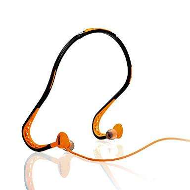 Remax RM-S15 No ouvido Banda de pescoço Com Fio Fones Dinâmico Esporte e Fitness Fone de ouvido Isolamento de ruído Com Microfone Fone de