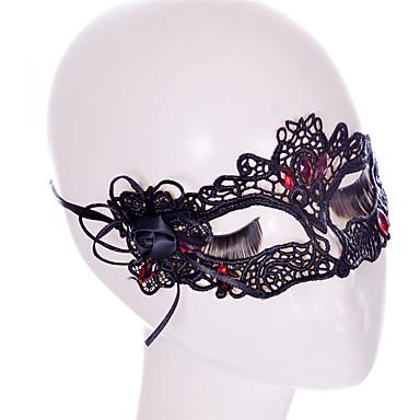 Máscaras feriado decorações do partido Renda
