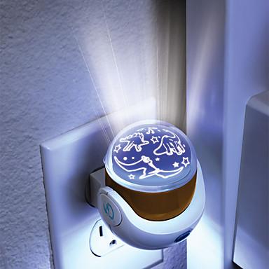 1kpl led ac valoa toimiva kuvio lamppu kotimaan projektorilamput loistava projektio yövalossa