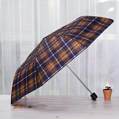 Zufällige Farben Taschenschirme Sonnenschirm / Sonnig und Rainy / Regnerisch Metall / Textil- / SilikonKinderwagen / niños / Reise / Lady