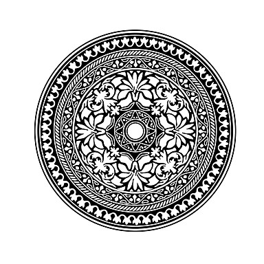 Blomster Wall Stickers Fly vægklistermærker Dekorative Mur Klistermærker,Vinyl Materiale Kan fjernes / Kan Omposisjoneres Hjem Dekor