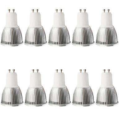 5W 400-450 lm GU10 Lâmpadas de Foco de LED MR16 1 leds COB Regulável Decorativa Branco Quente Branco Frio AC 110-130V AC 100-240V