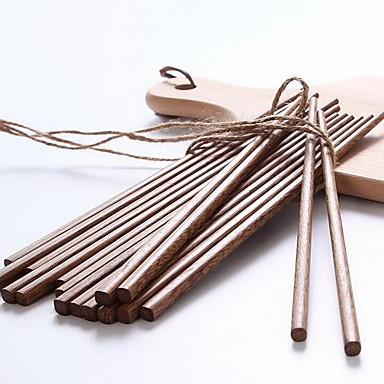 Træ Middagsgaffel Chopstick Dobbelt