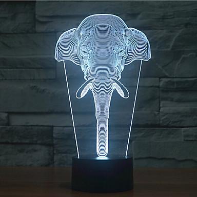 1 pièce Veilleuse 3D Décorative LED