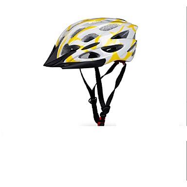 Bjerg / Vej / Sport-Dame / Herre / Unisex-Cykling / Bjerg Cykling / Vej Cykling / Rekreativ Cykling-Hjelm(Gul / Hvid / Rød,PC / EPS)27