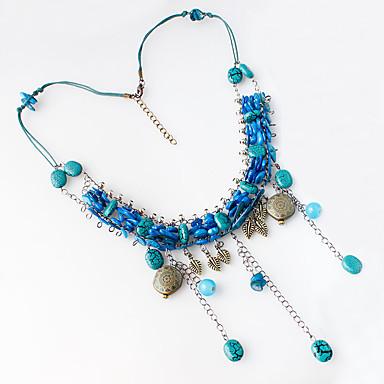 Kettingen Kettingen Sieraden Bruiloft / Feest Modieus Legering Diverse Kleuren / Rood / Blauw / Roze 1 stuks Geschenk