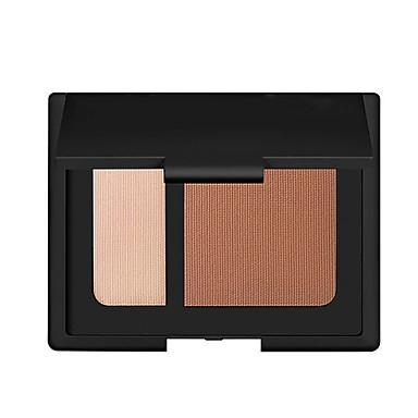 2 Concealer/kontur Tør Mat Presset Pulver Blegende Dekning Olie kontrol Længerevarende Concealer Ujævn hud Naturlig porereducerende