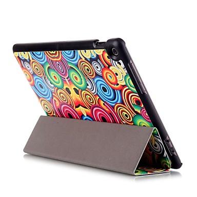 Capinha Para Asus Capa Proteção Completa / Tablet Cases Retalhos Rígida PU Leather para