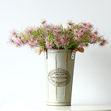 1 Tak Polyester Kunststof Overige Bloemen voor op tafel Kunstbloemen