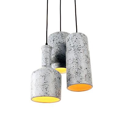 Luzes Pingente ,  Contemprâneo Tradicional/Clássico Rústico/Campestre Vintage Retro Rústico Outros Característica for Estilo Mini Cerâmica