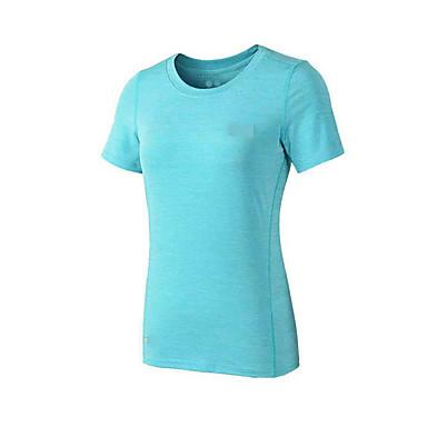 Unisex Kurze Ärmel Laufen Sweatshirt Atmungsaktiv Rasche Trocknung Videokompression Schweißableitend Frühling Sportbekleidung Laufen Modal
