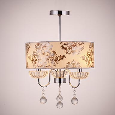 QINGMING® Modern / Zeitgenössisch Kronleuchter Moonlight - Kristall, 110-120V 220-240V Glühbirne nicht inklusive