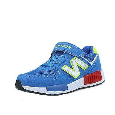 Sneakers-Tyl-Komfort-Piger-Blå Marineblå-Fritid-Flad hæl