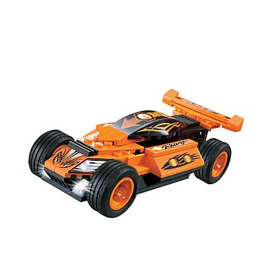 WOMA Spielzeug-Autos Bausteine 73 pcs Heimwerken Neuartige Kreativ Rennauto Auto Pferd Rennauto Kinder Jungen Geschenk