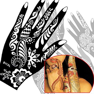 -Airbrush tatoeages-Non Toxic- stuks