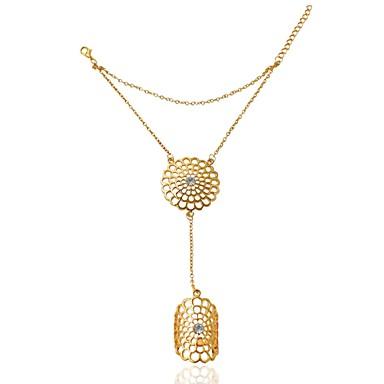 Mulheres - Princesa Clássico, Fashion Ajustável Prata / Dourado Para Casamento / Festa / Festa / Noite