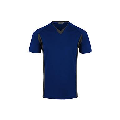 Homens Camiseta de Corrida Manga Curta Secagem Rápida Respirável Redutor de Suor Confortável Camiseta Pulôver Blusas para Exercício e