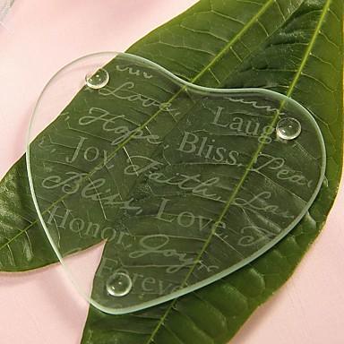 Glas Kreativ Gave Gør Det Selv Hjemmeindretning Krystal Varer Glas og Krus Brud Brudgom Brudepige Forlover Blomsterpige Ringbærer Par
