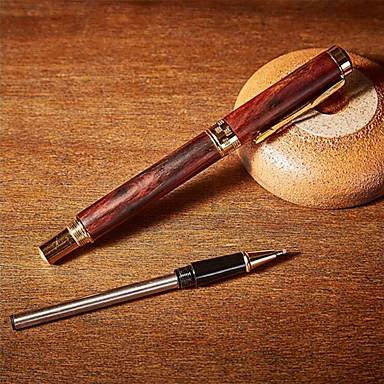 Pen Pen Vulpennen Pen,Hout Vat Zwart Inktkleuren For Schoolspullen Kantoor artikelen Pakje
