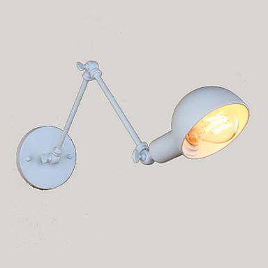 סגנון חלוד / בקתה מנורות קיר מתכת אור קיר 220V / 110V 40W / E26 / E27