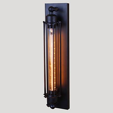Rustikk / Hytte Metall Vegglampe 110-120V / 220-240V 40W