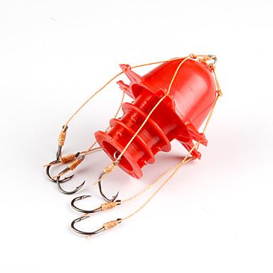 フィッシング-1pcs 個 ホワイト / イエロー / レッド 硬質プラスチック / 炭素鋼-Anmuka 海釣り / 穴釣り / ジギング / 川釣り / その他 / 一般的な釣り