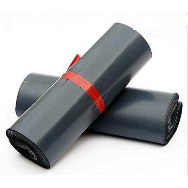 灰色の損傷シールポスト卸売包装袋28 * 42センチメートル急行包装袋