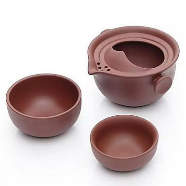 rejser keramiske te sæt en gryde med to kopper