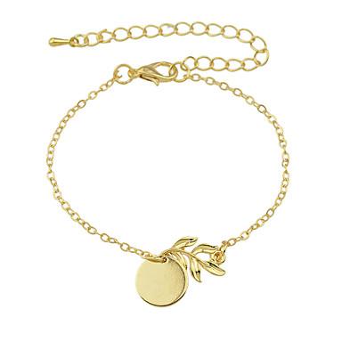 Damen Ketten- & Glieder-Armbänder / Armreife - Modisch Armbänder Golden Für Party / Alltag