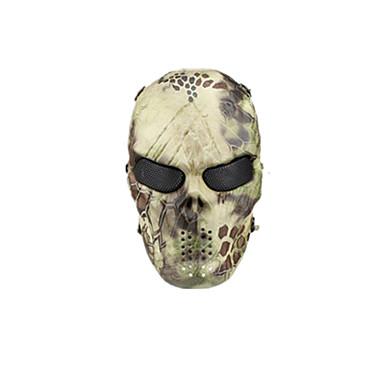gele kleur, TPU materiaal bescherming woestenij python accessoires tactisch gebied masker